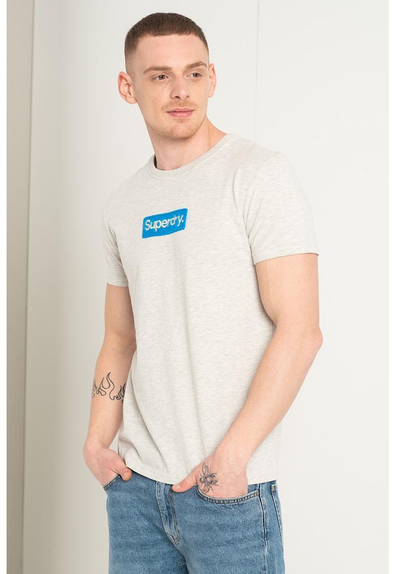 Tricou cu aplicatie logo din material terry Workwear