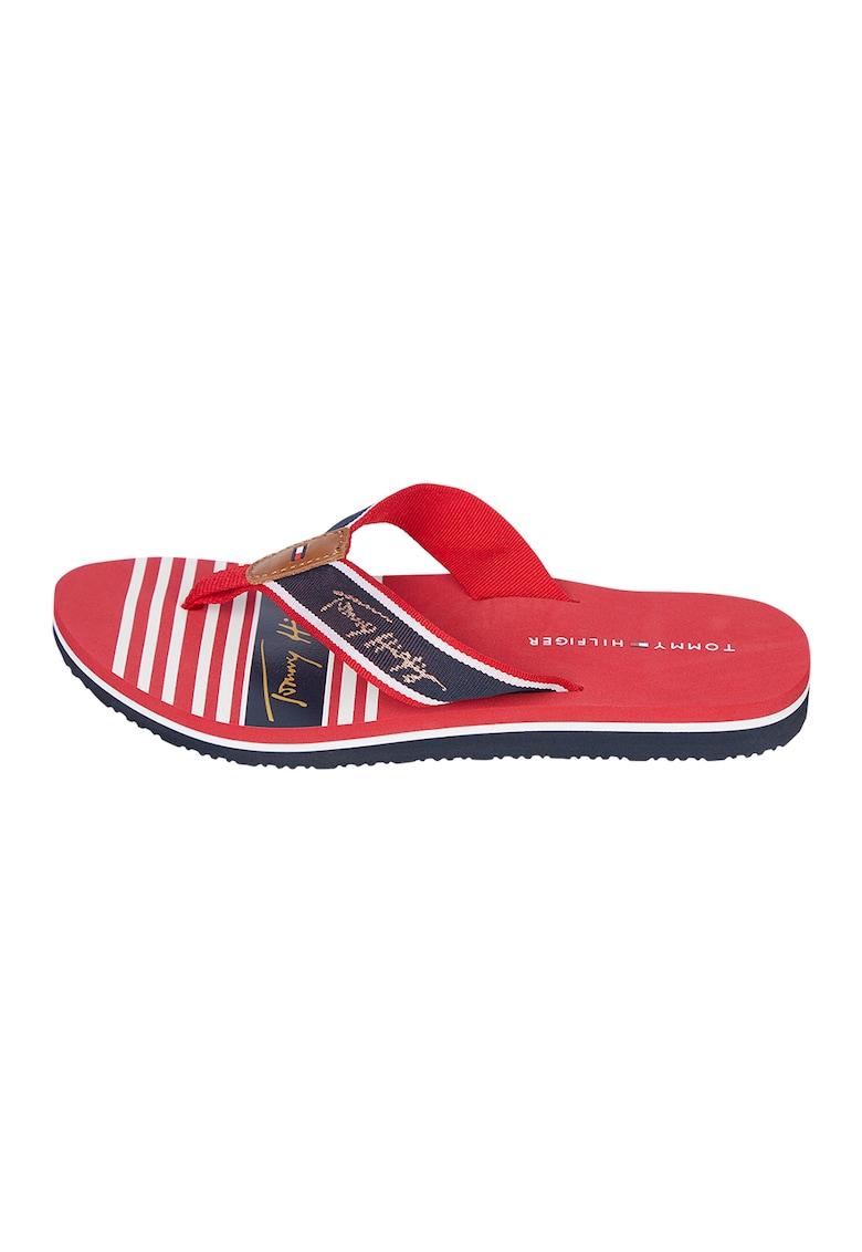 Papuci flip-flop cu logo imagine fashiondays.ro 2021