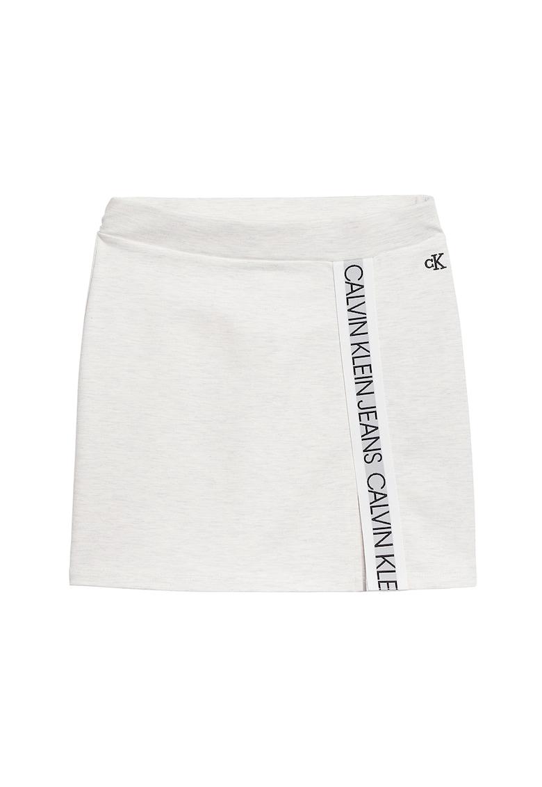 CALVIN KLEIN Fusta mini cu logo