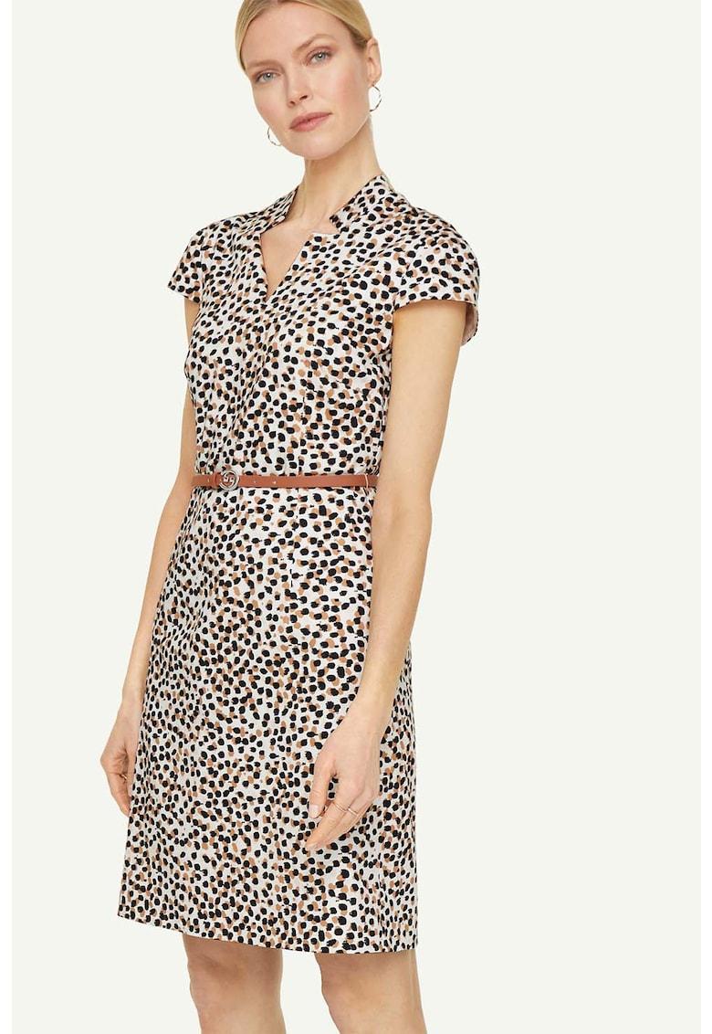 Rochie mini cu animal print fashiondays.ro