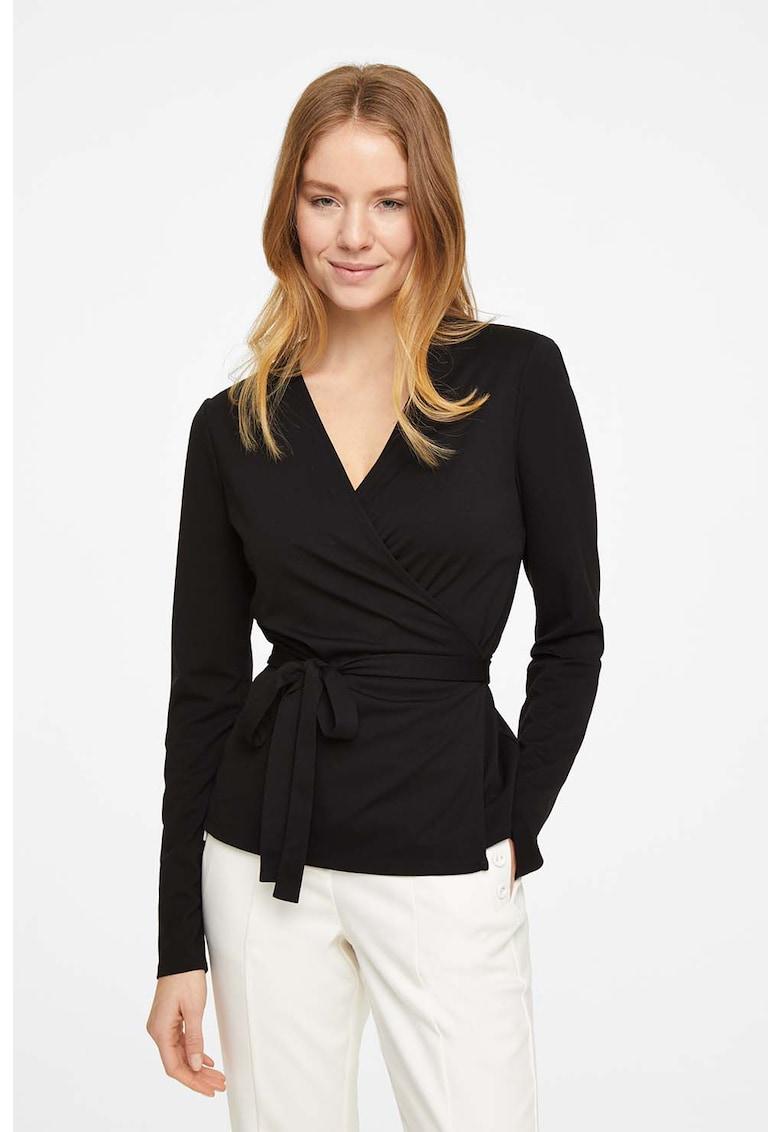 Bluza cu design petrecut imagine fashiondays.ro comma,,