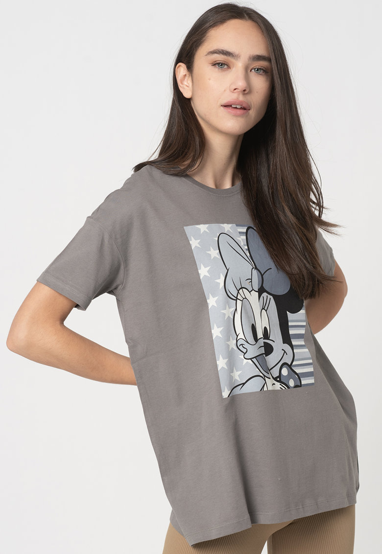 Tricou supradimensionat din bumbac organic Disney