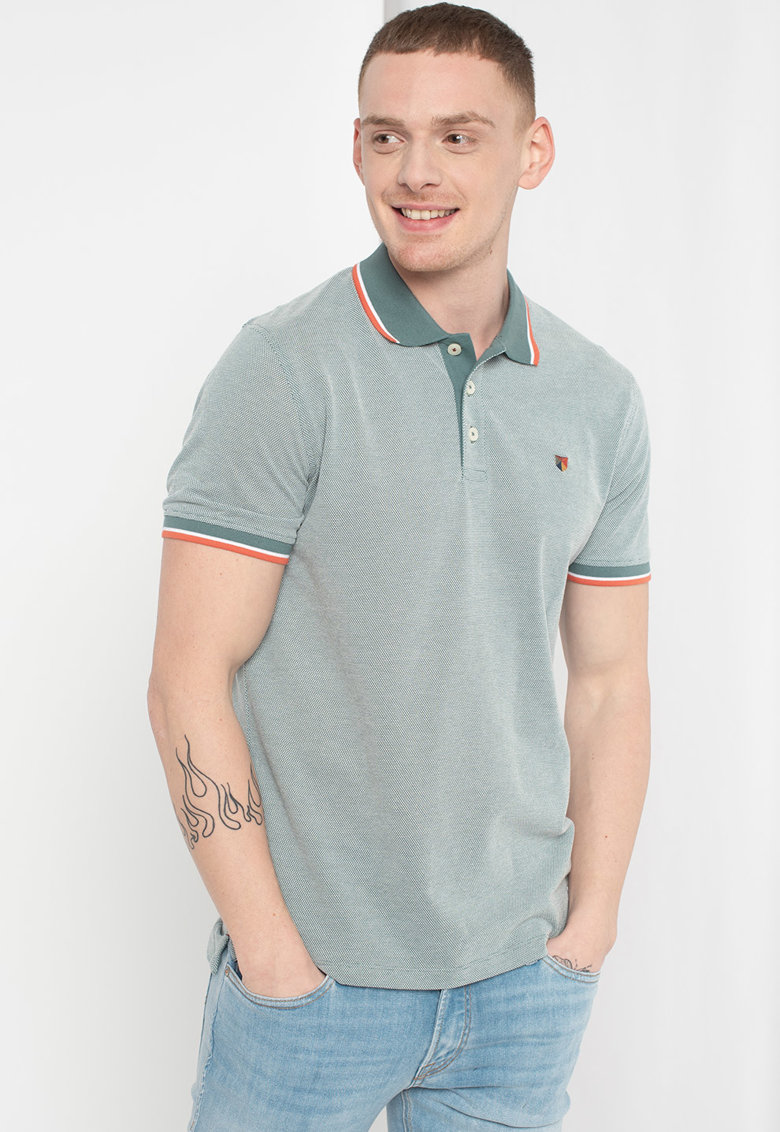 Tricou polo regular fit Luwin