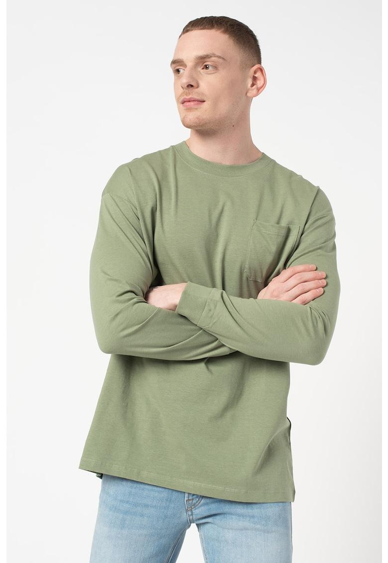 Bluza cu decolteu la baza gatului Brink