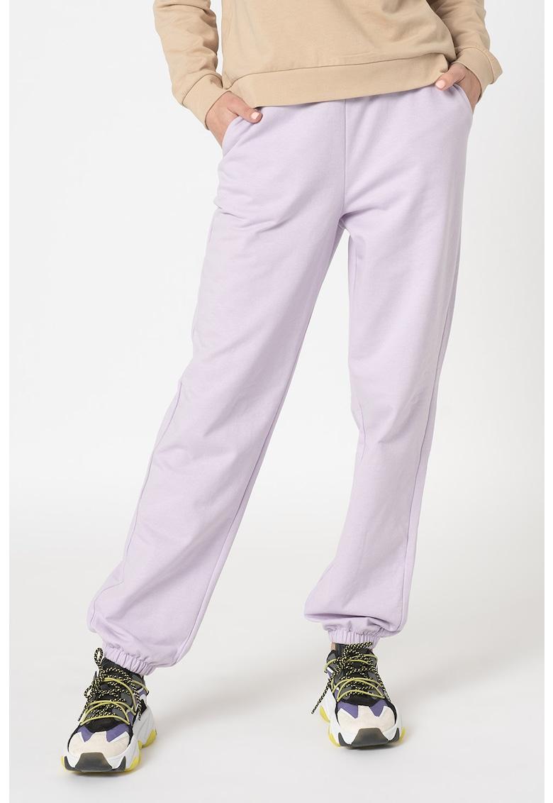 Pantaloni sport cu talie inalta Octavia