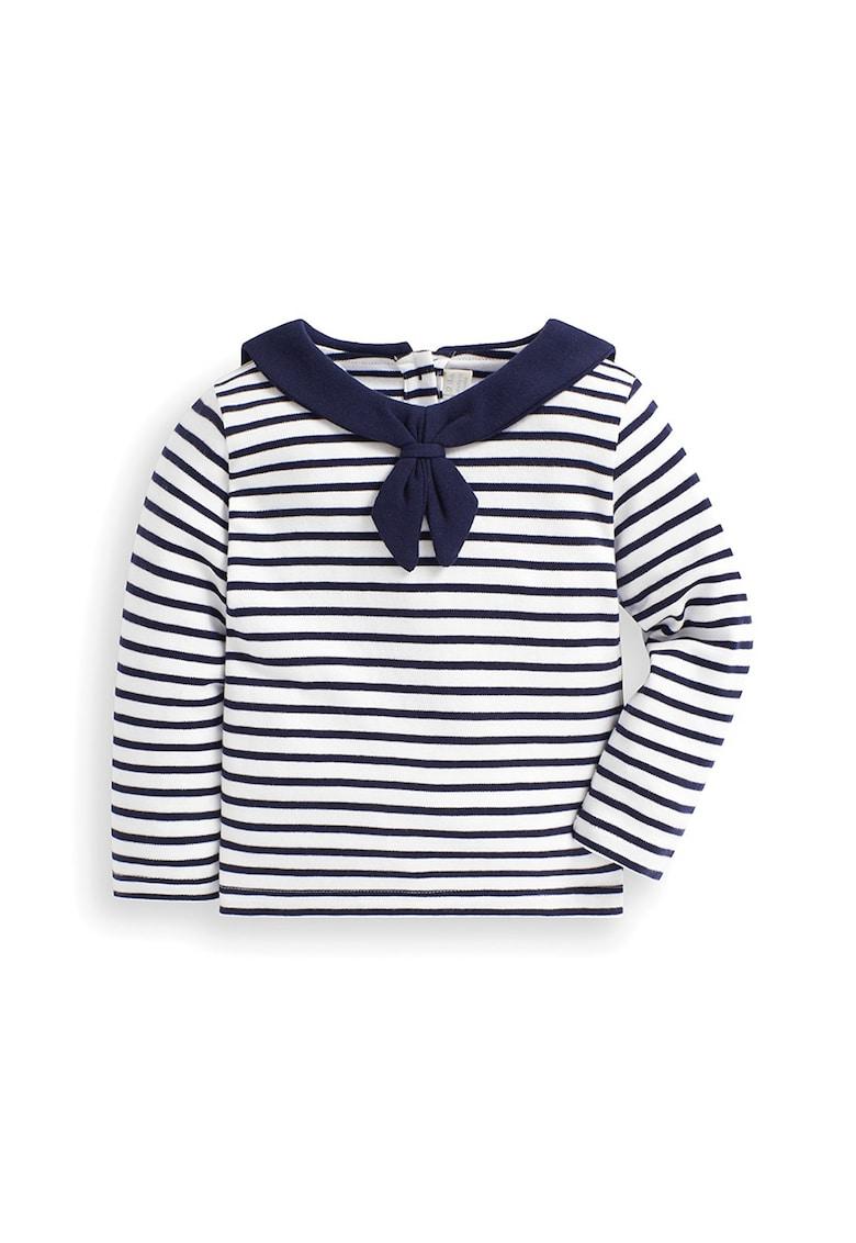 Bluza in dungi cu guler marinaresc de la JoJo Maman Bebe