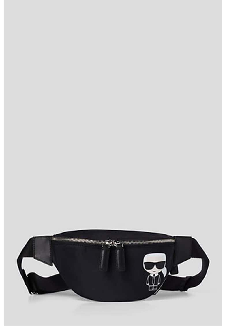 Karl Lagerfeld Borseta din material textil Ikonik
