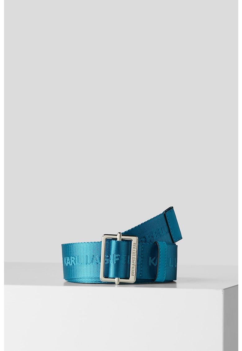 Curea cu model logo Webbing imagine fashiondays.ro Karl Lagerfeld