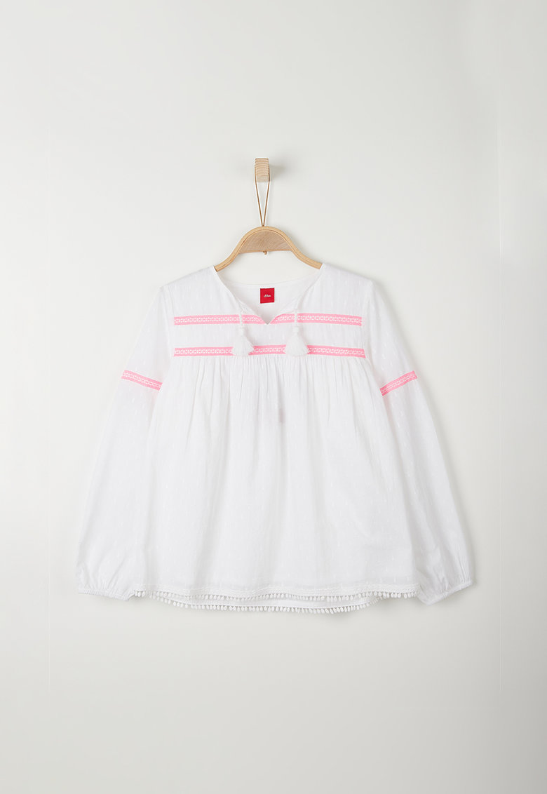 Bluza cu garnituri crosetate s.Oliver fashiondays.ro