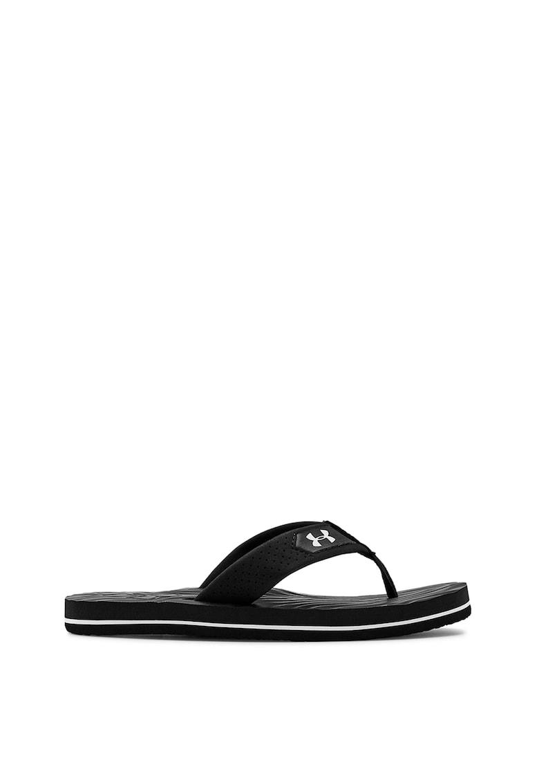 Papuci flip-flop cu imprimeu logo Marathon imagine