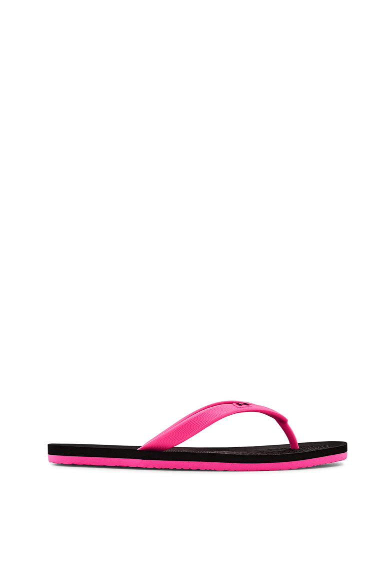 Papuci flip-flop cu logo Atlantic imagine