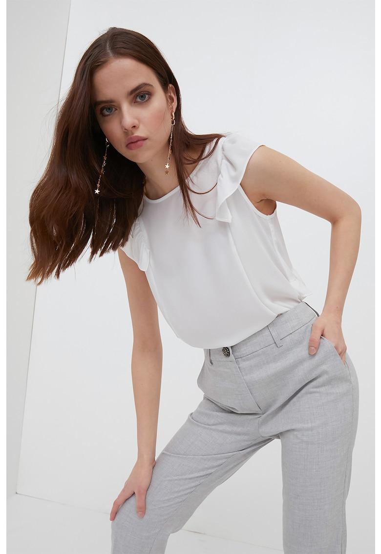Bluza cu maneci scurte imagine fashiondays.ro Motivi