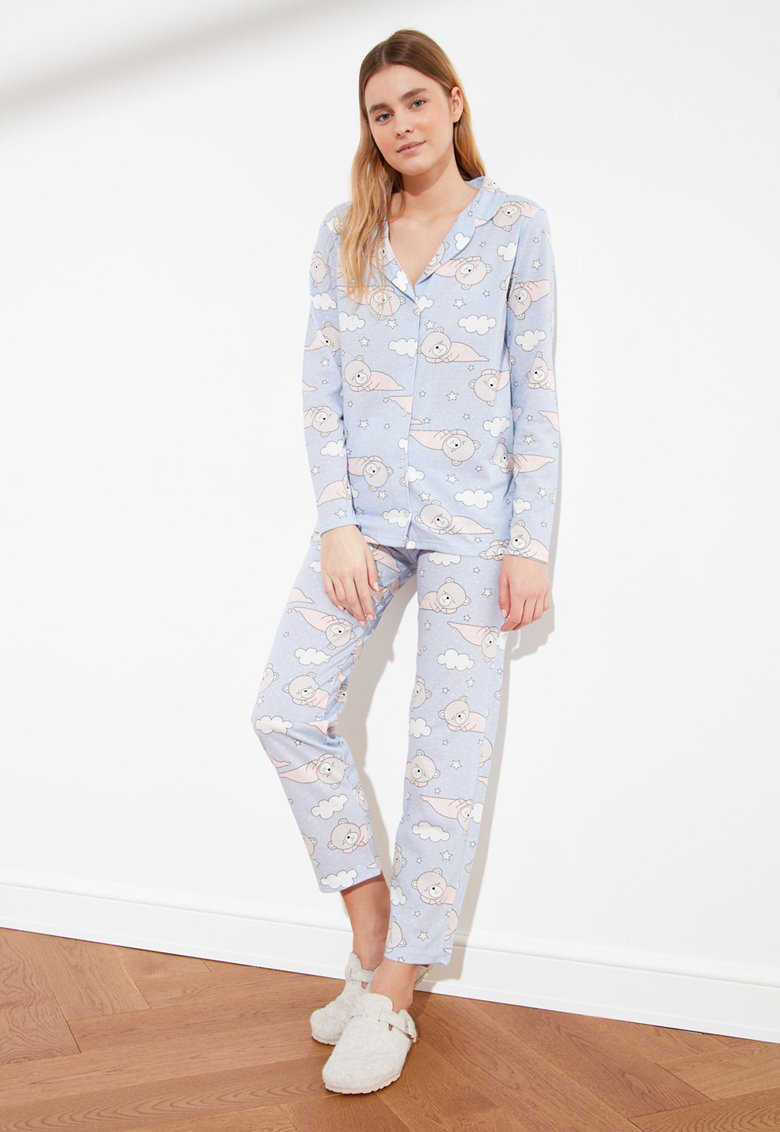 Pijama cu ursuleti imagine fashiondays.ro 2021
