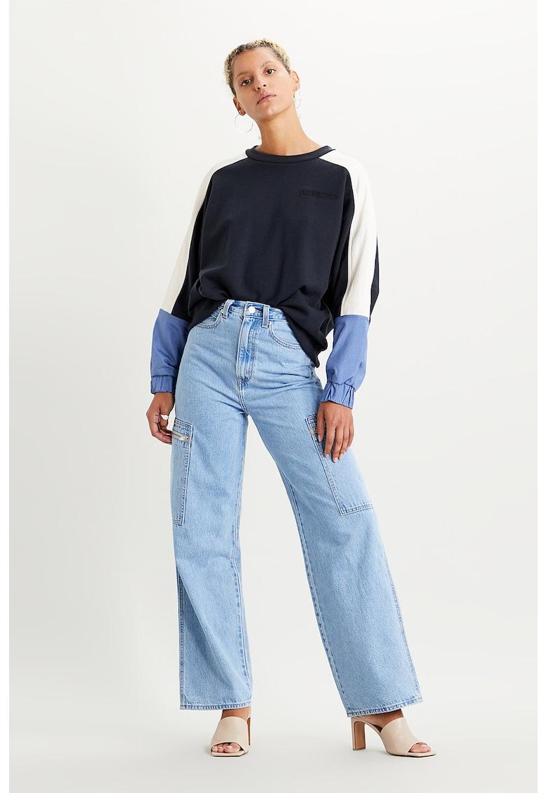 Bluza sport lejera cu model colorblock imagine fashiondays.ro Levi's