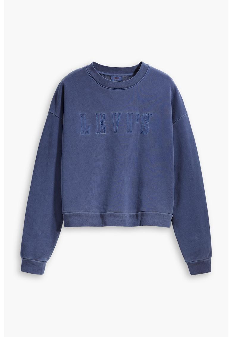Bluza sport cu logo brodat imagine fashiondays.ro Levi's