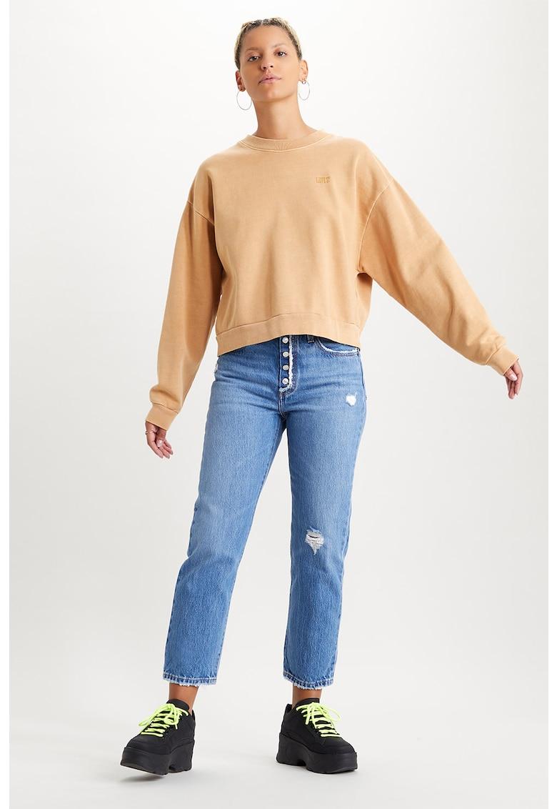 Bluza sport cu maneci cazute Diana imagine fashiondays.ro Levi's