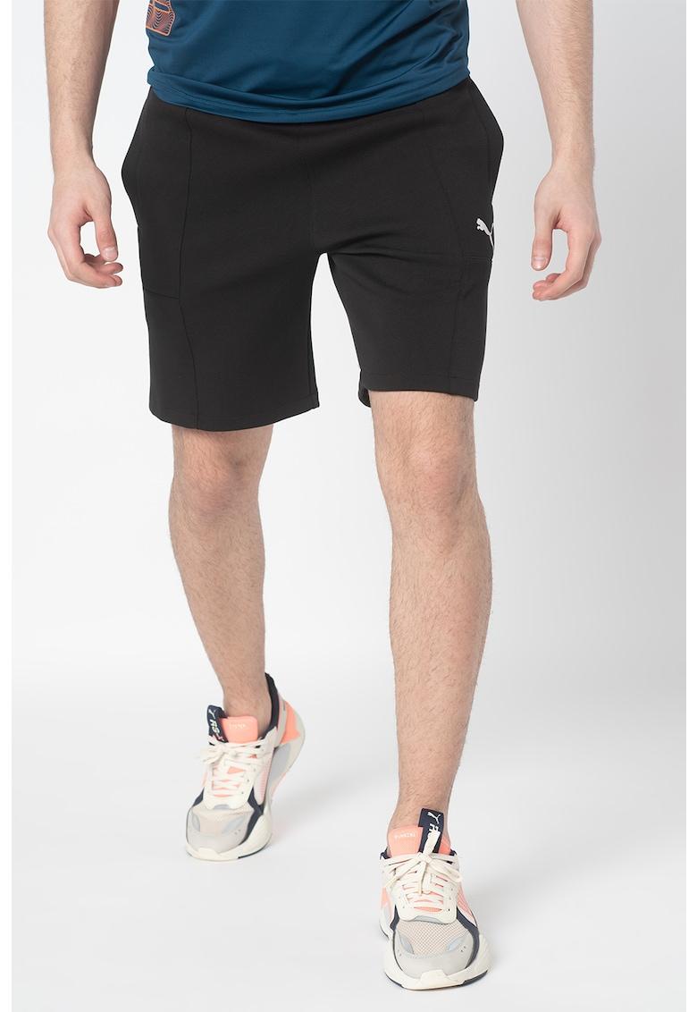 Pantaloni scurti sport cu snur in talie - pentru fitness Epoch poza fashiondays