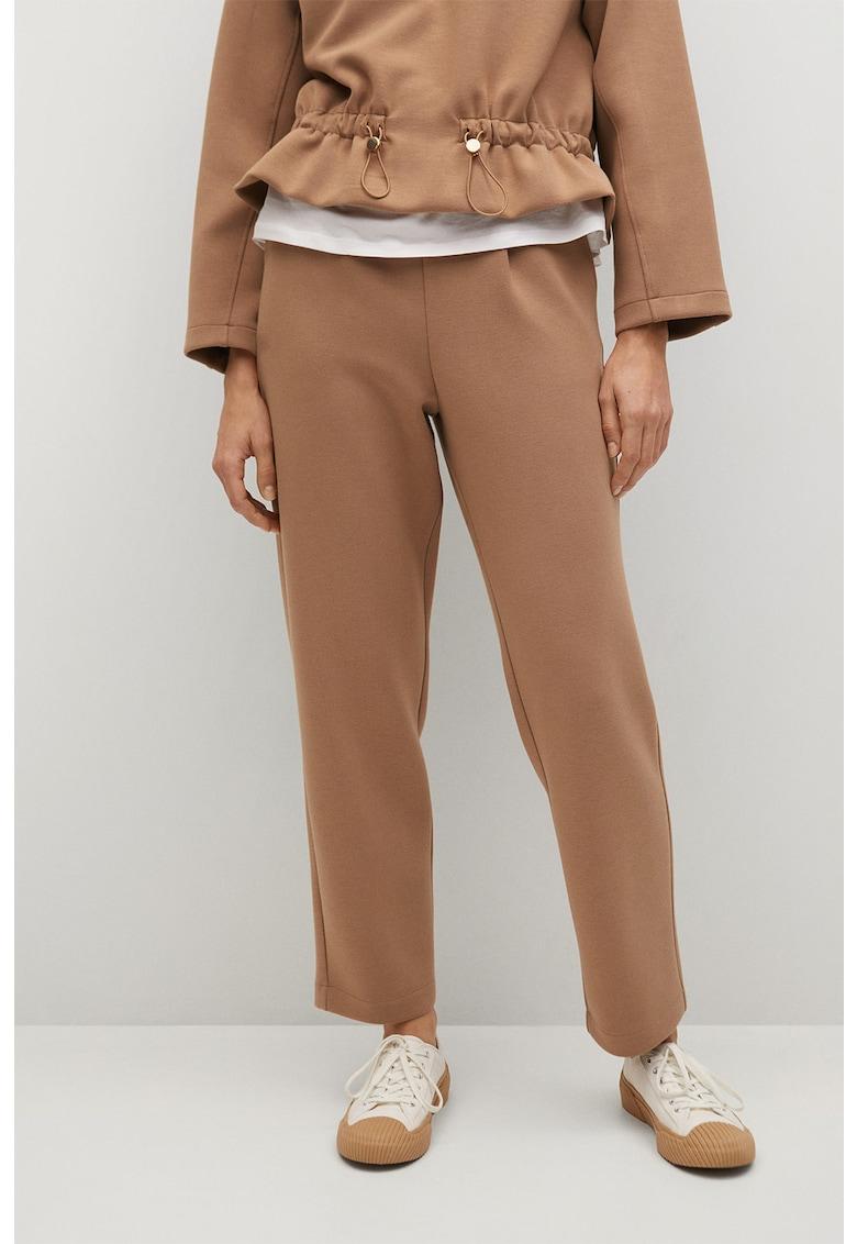 Pantaloni cu croiala dreapta si buzunare oblice Papier