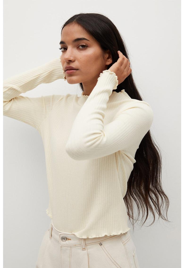 Bluza striata cu margini valurite Miranda