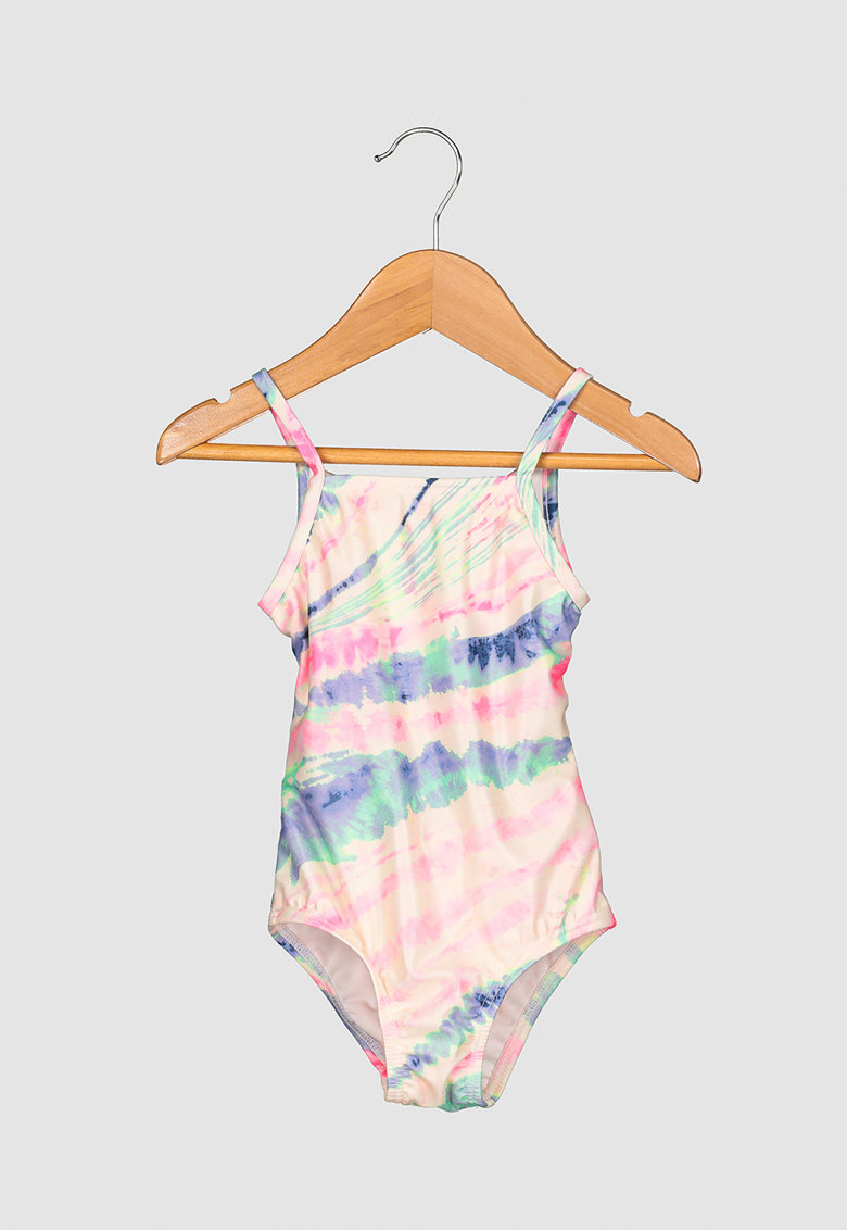 Costum de baie cu model tie-dye imagine fashiondays.ro