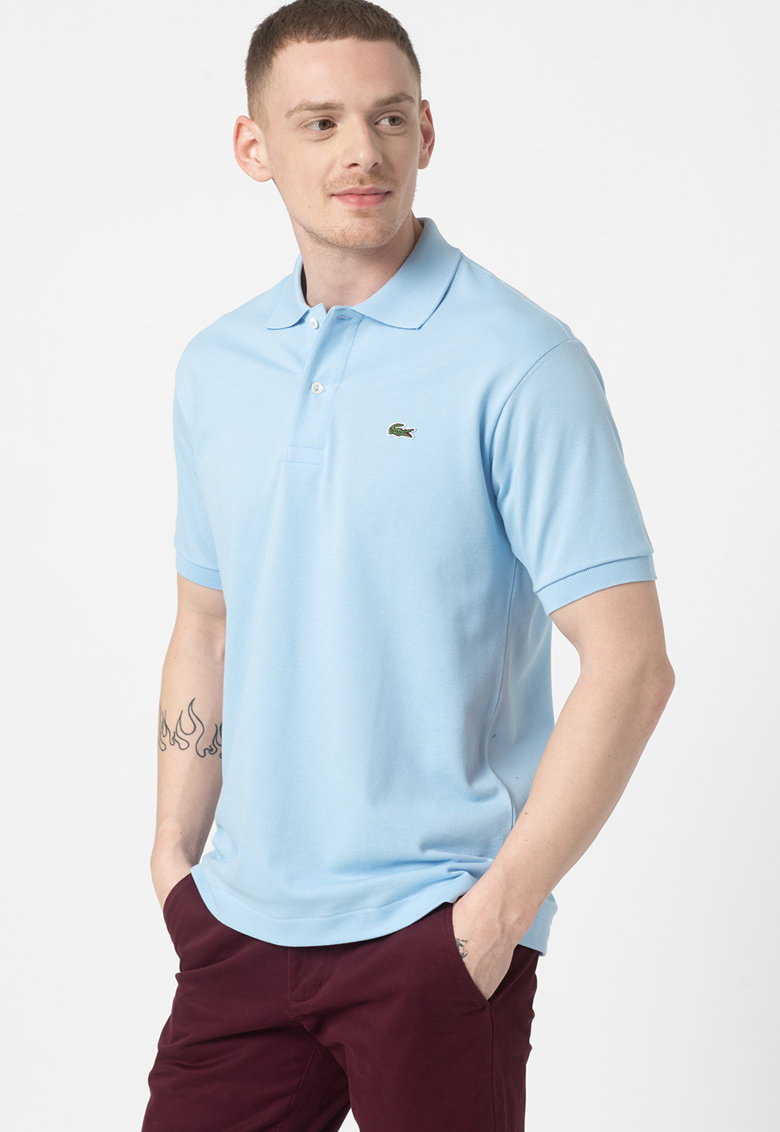 Lacoste Tricou polo regular fit din material pique