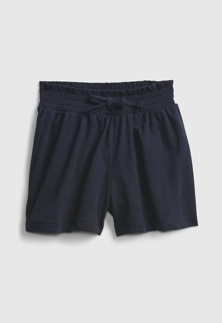 Pantaloni scurti cu talie elastica poza fashiondays