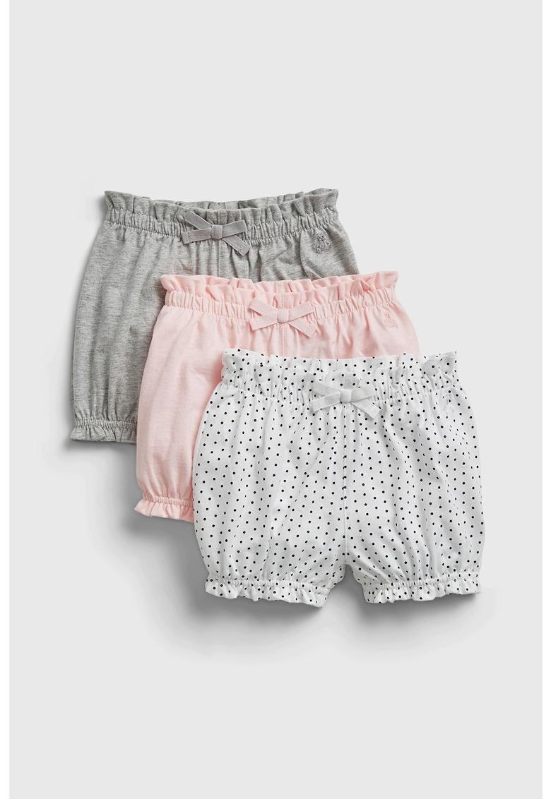 Set de pantaloni scurti de bumbac - 3 perechi fashiondays.ro