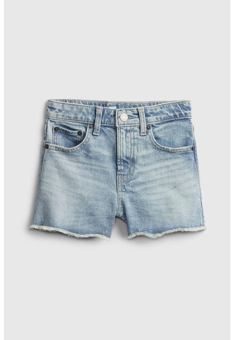 Pantaloni scurti de denim cu 5 buzunare imagine fashiondays.ro