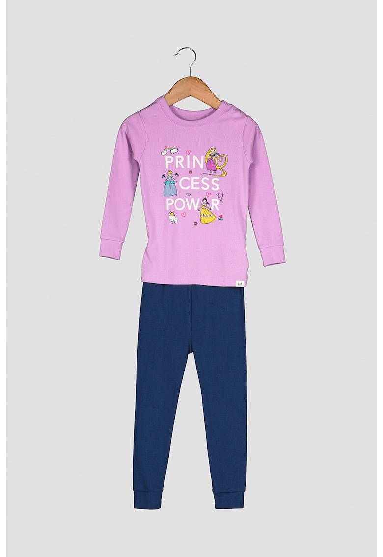 Pijama cu imprimeu Disney imagine fashiondays.ro 2021