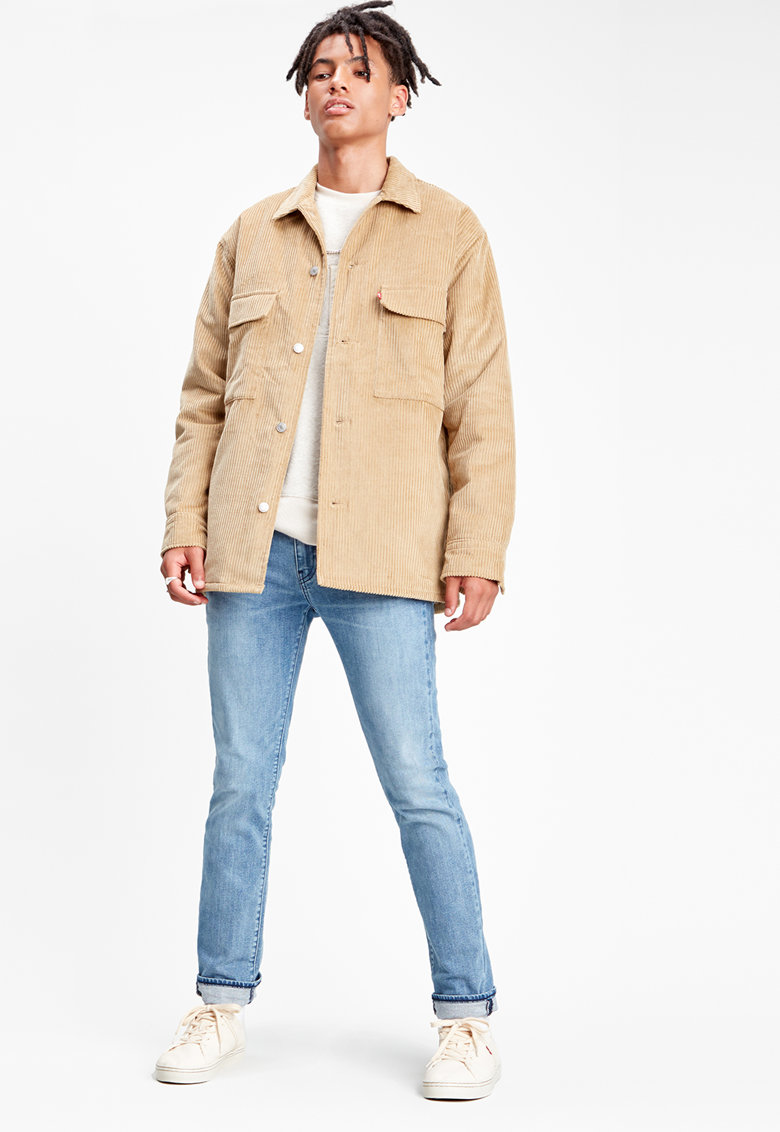 Jacheta de reiat cu buzunare cu clapa pe piept