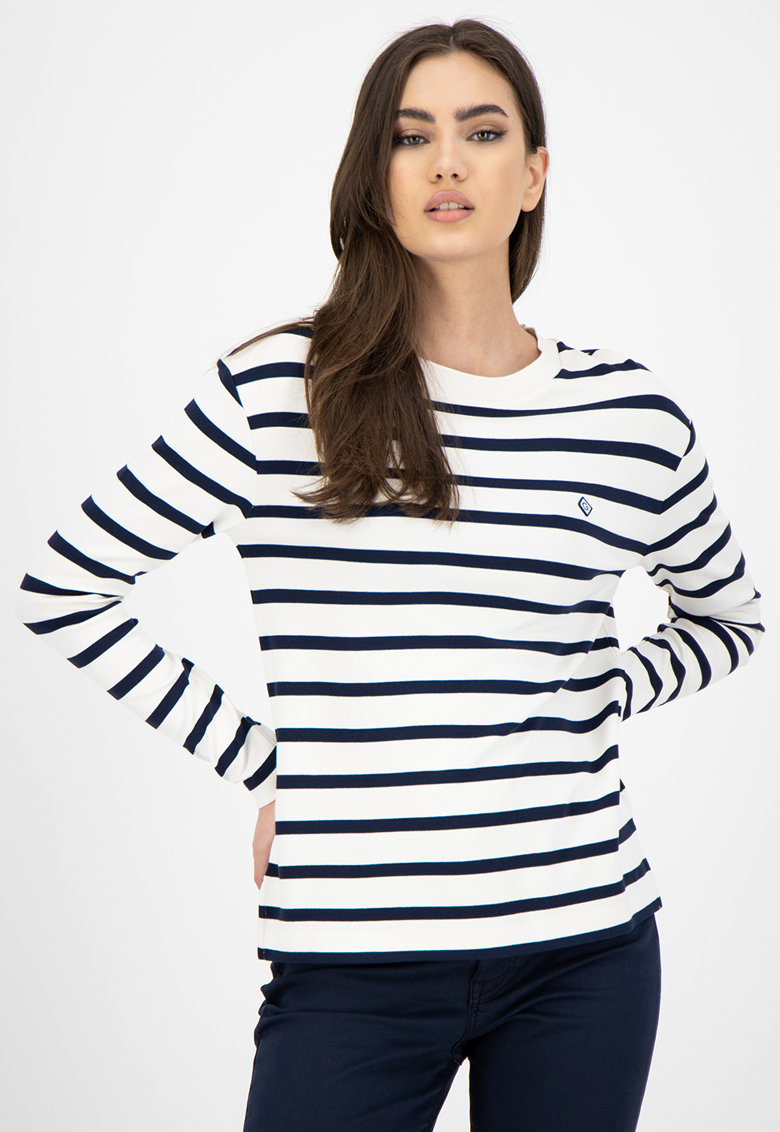 Bluza in dungi imagine fashiondays.ro Gant