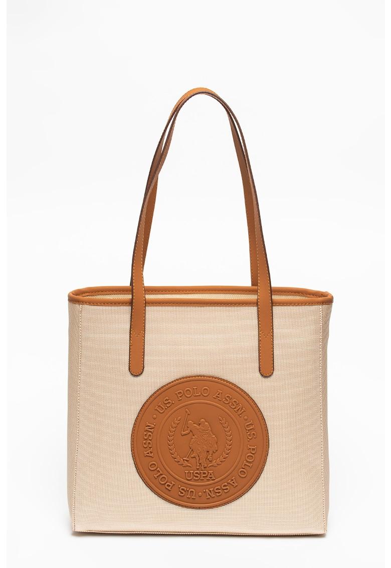 Geanta shopper cu logo poza fashiondays
