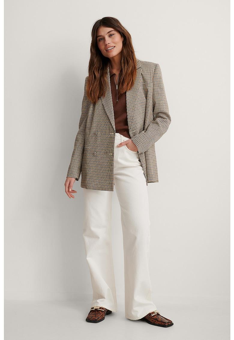 Blugi drepti relaxed fit imagine fashiondays.ro NA-KD