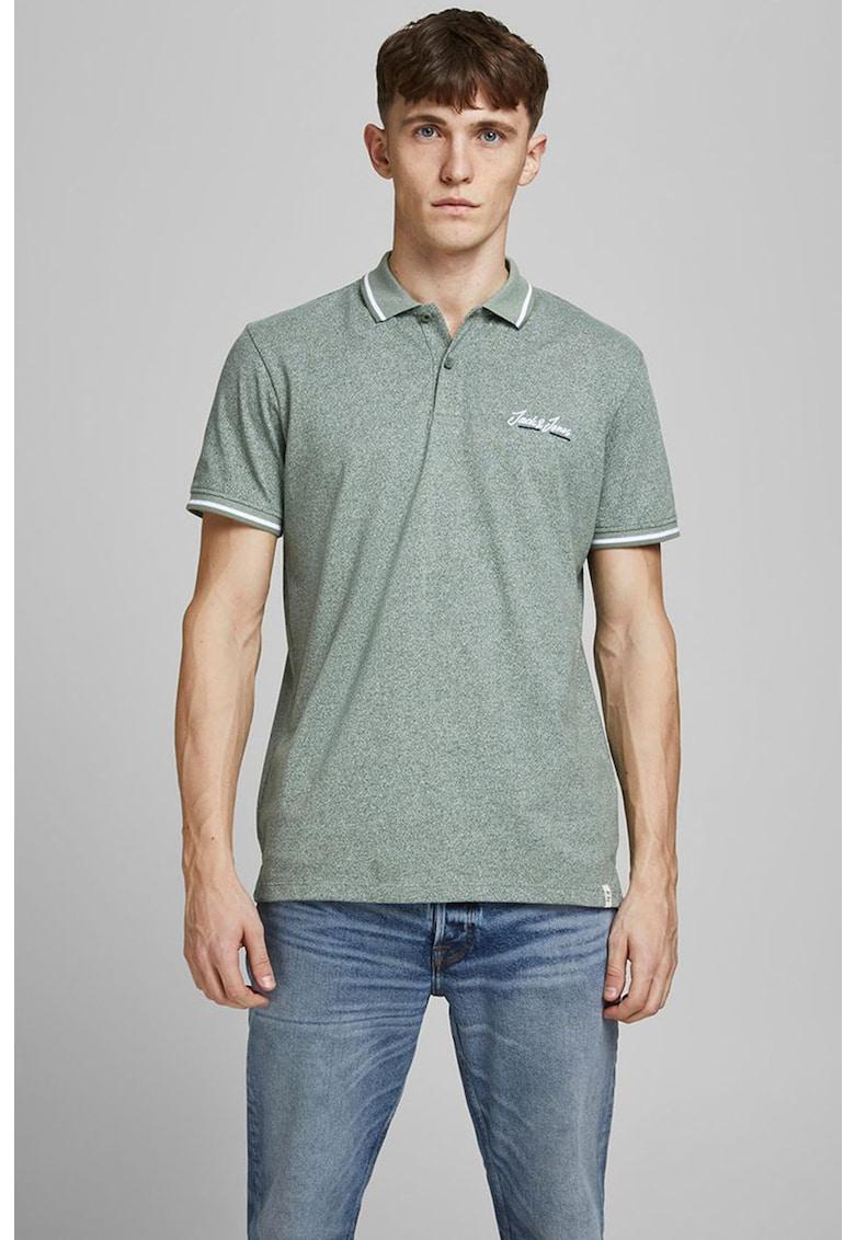 Jack & Jones - Tricou polo de bumbac cu logo fashiondays.ro