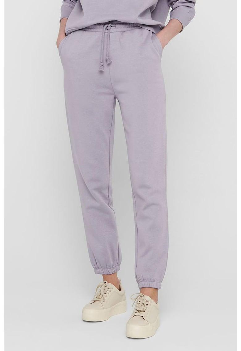 Pantaloni sport cu snur de la JdY