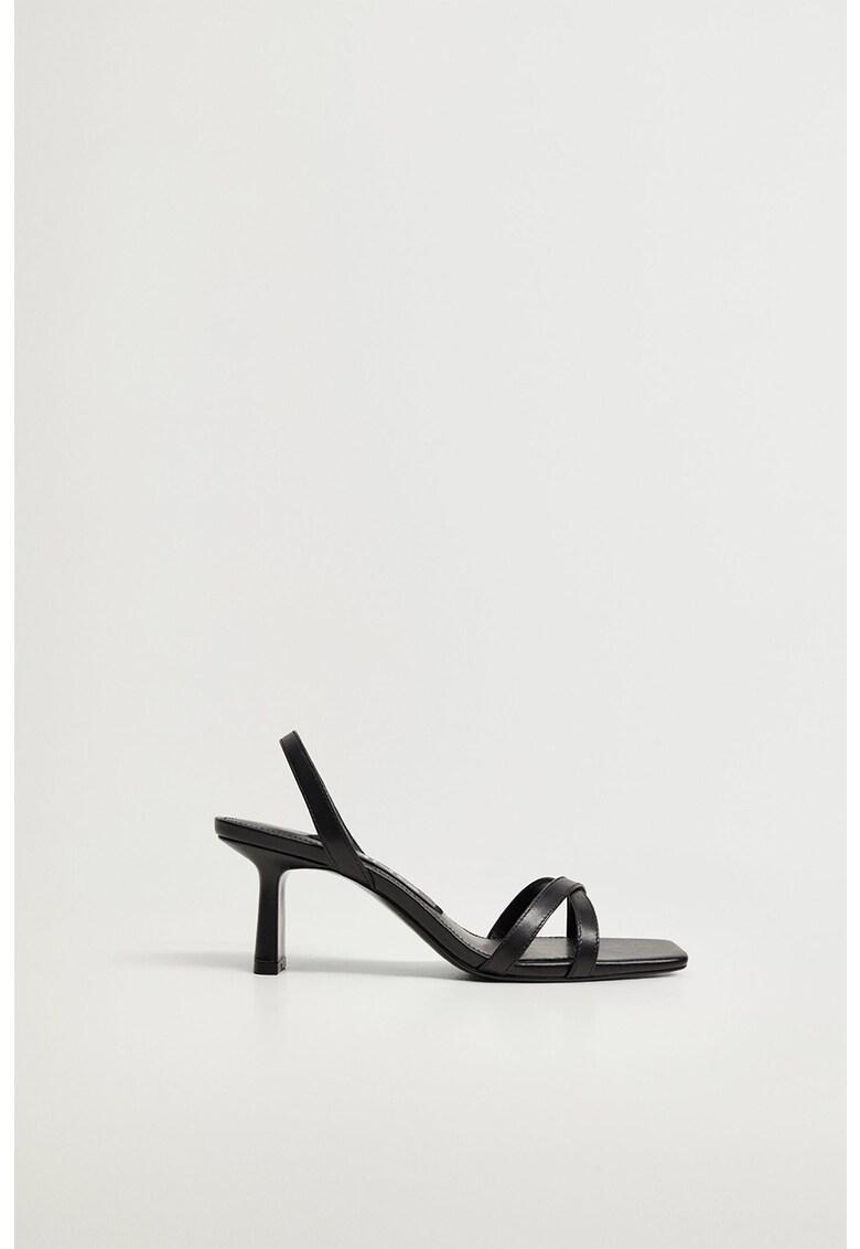 Sandale slingback din piele cu barete multiple Going imagine