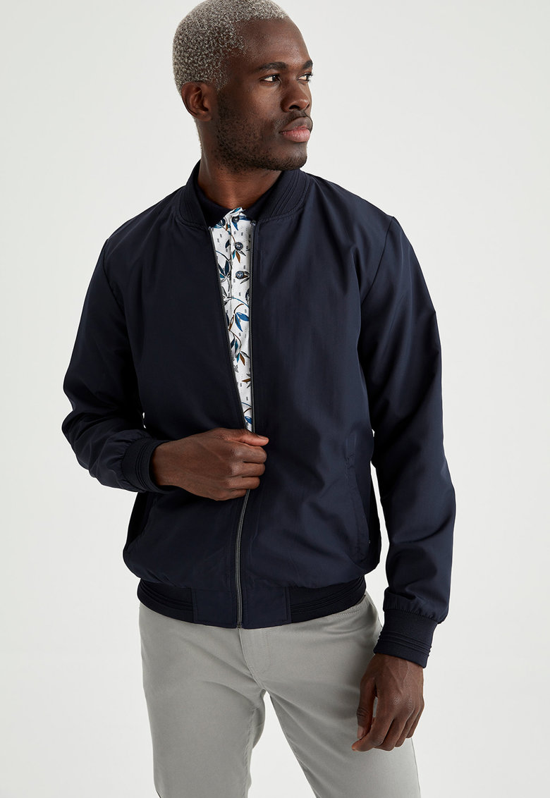 Jacheta bomber slim fit