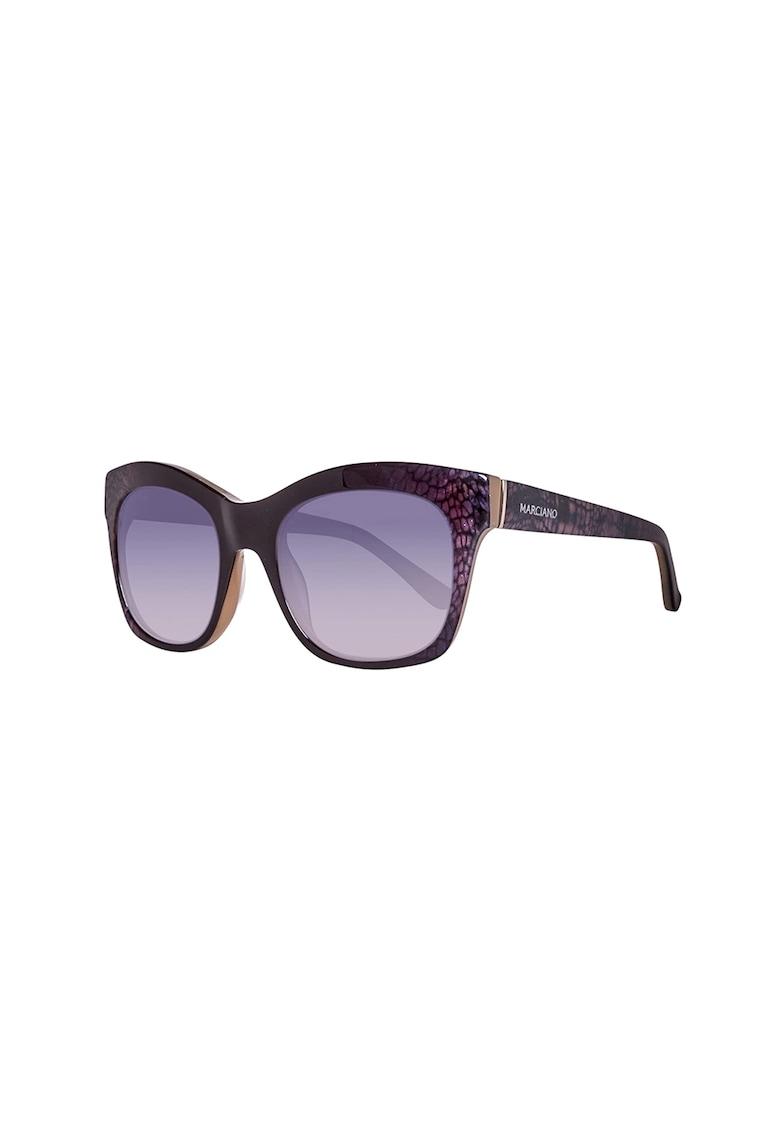 Ochelari de soare ovali cu lentile in degrade imagine fashiondays.ro GUESS BY MARCIANO