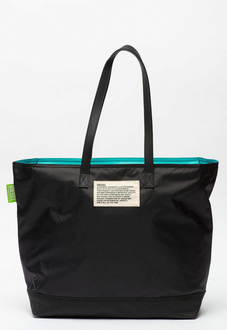 Geanta shopper cu aplicatie logo Vivyenne Diesel fashiondays.ro