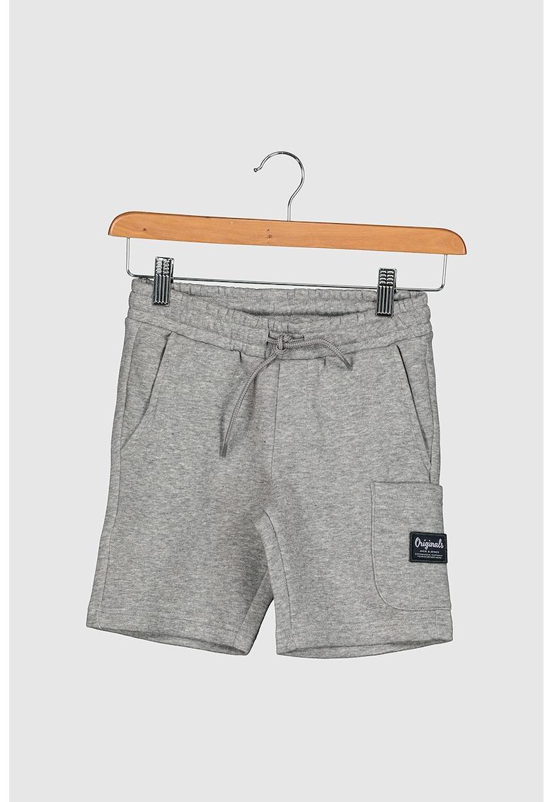 Pantaloni sport scurti cu snur imagine fashiondays.ro 2021