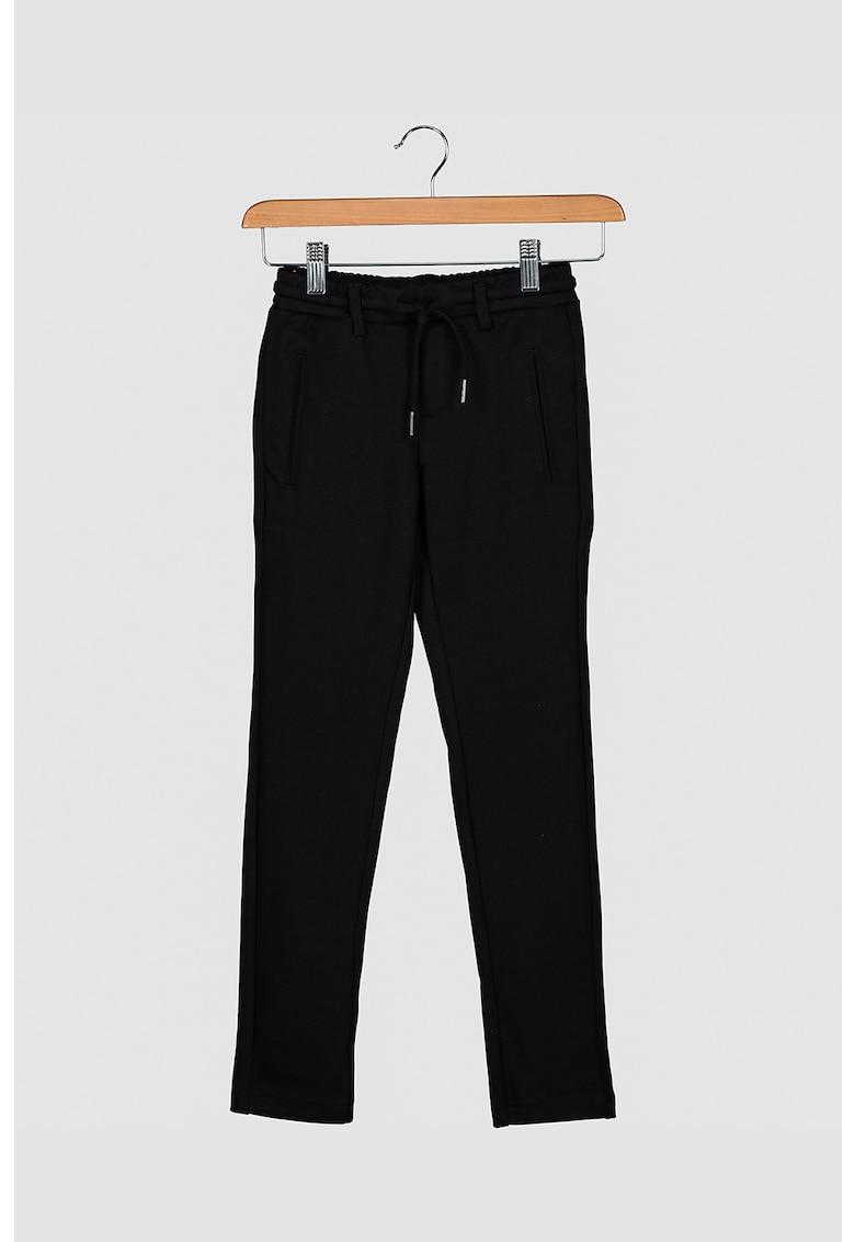 Pantaloni sport cu snur in talie Jack&Jones fashiondays.ro