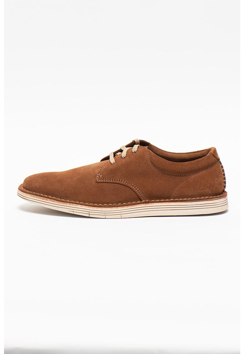 Clarks Pantofi casual de piele intoarsa Forge Vibe
