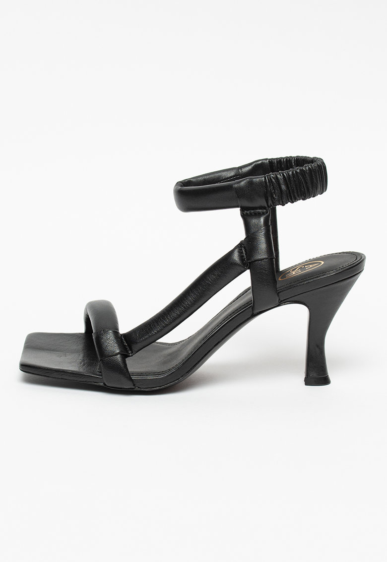 Sandale de piele cu insertie elastica Mambo