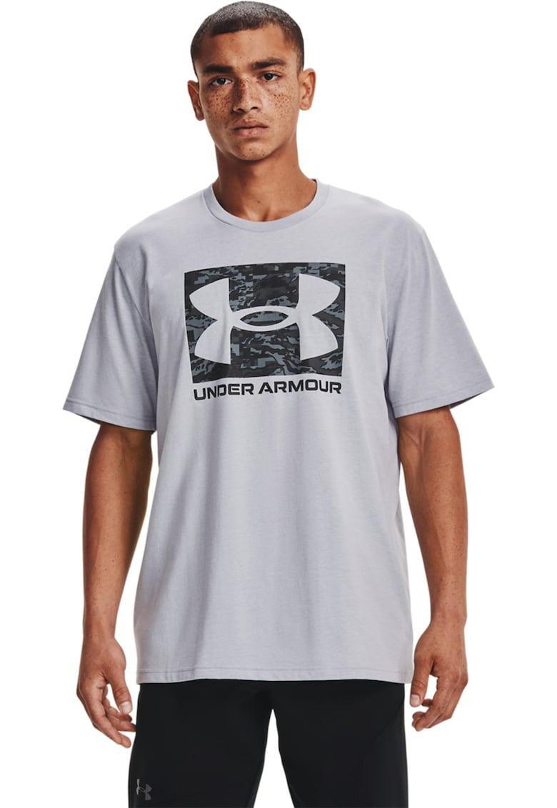 Under Armour Tricou cu logo pentru fitness Camo