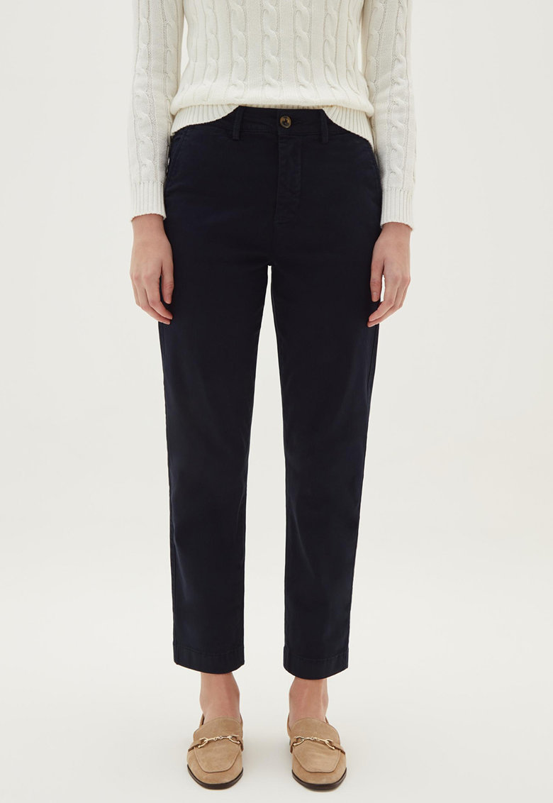 Pantaloni crop regular fit fashiondays.ro