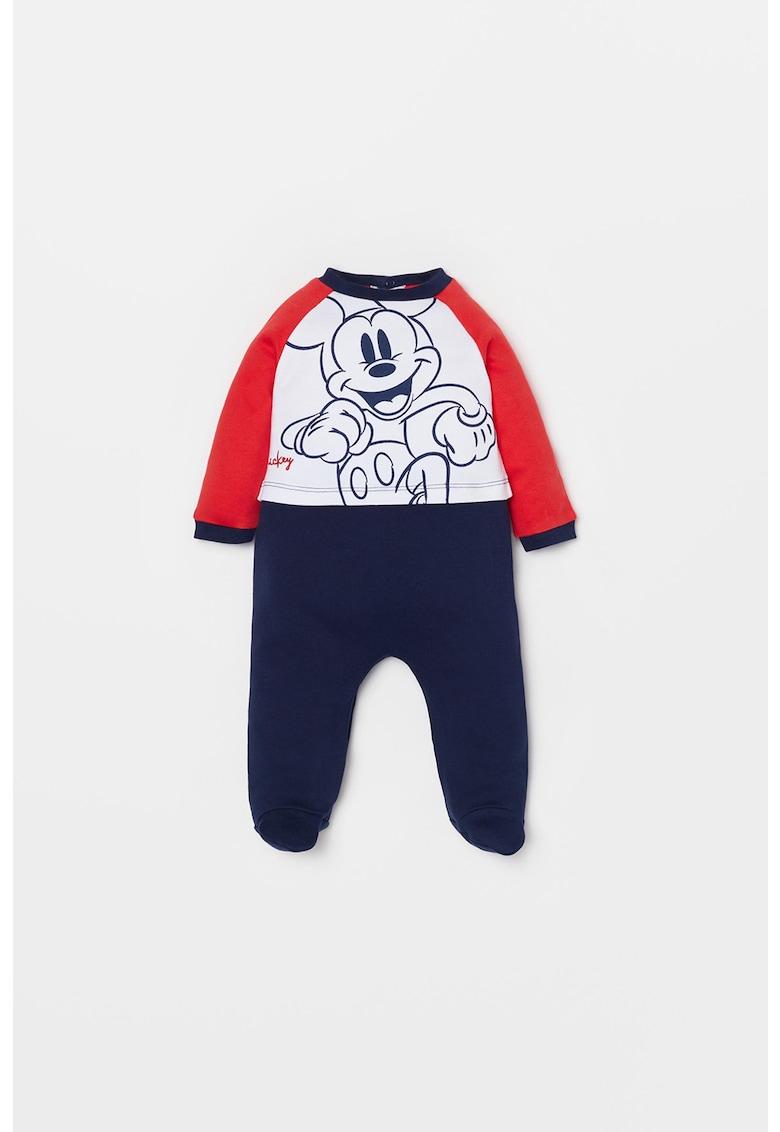 Salopeta cu aspect 2 in 1 si imprimeu Mickey Mouse imagine fashiondays.ro OVS