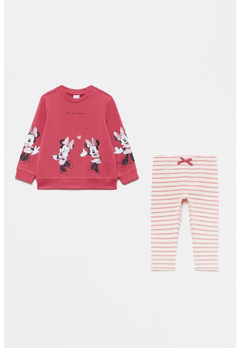 Set de bluza cu imprimeu si pantaloni poza fashiondays