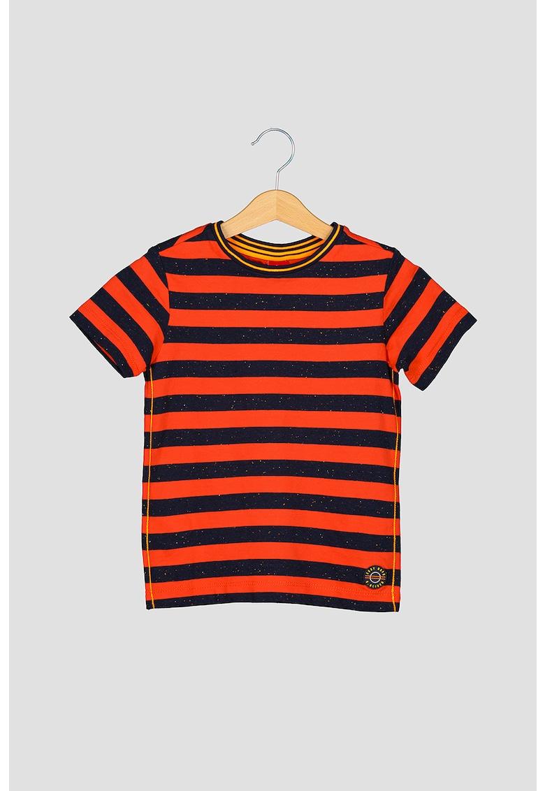 Set de tricouri cu decolteu la baza gatului - 2 piese s.Oliver fashiondays.ro