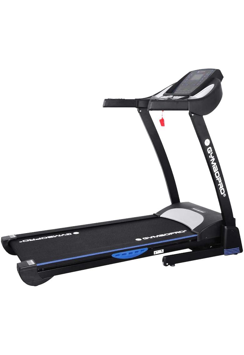 Banda alergare - 1.75 cai putere - viteza: 1-16 km/h - inclinare automata 1-15% - greutate maxima utilizator: 110 kg - culoare negru-albastru