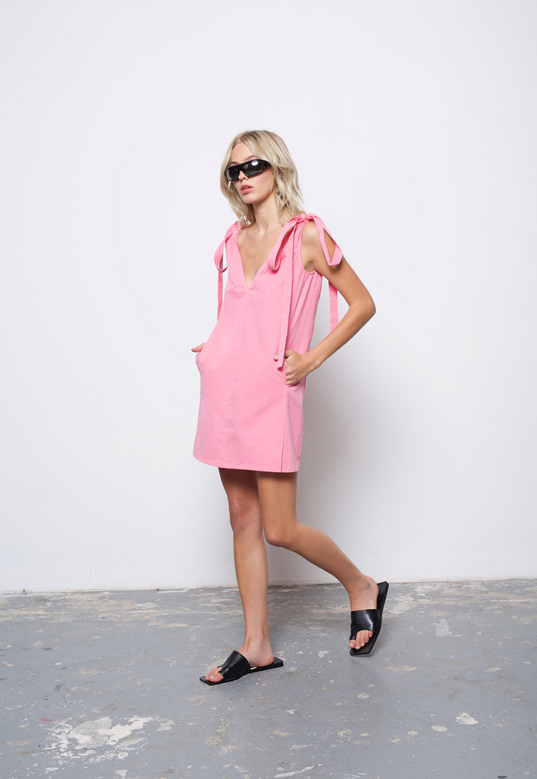 Rochie cu buzunare laterale Jagger imagine fashiondays.ro AMYLYNN